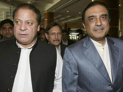 PML-N to support Yusuf Raza Gilani in Senate polls: Nawaz assures Zardari