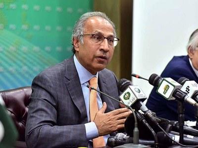 Hafeez Sheikh calls on top PML (Q) leadership