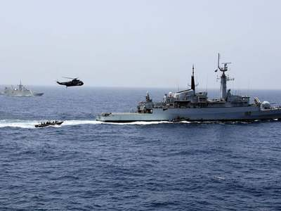 Navy conducts bilateral exercise with Russia, Sri Lanka