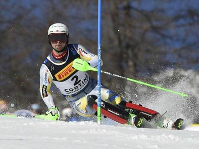 Norway's Foss-Solevaag storms to world slalom gold