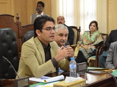 Kamran Bangash for promotion of book reading culture