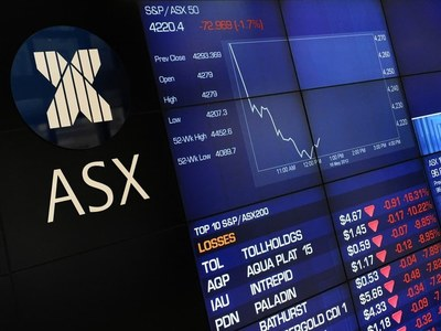 Australia shares trade flat as tech slide offsets commodity gains