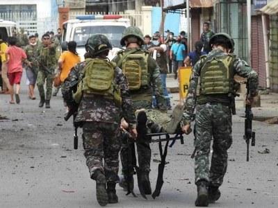 Nine women arrested over Philippine bomb plots: military