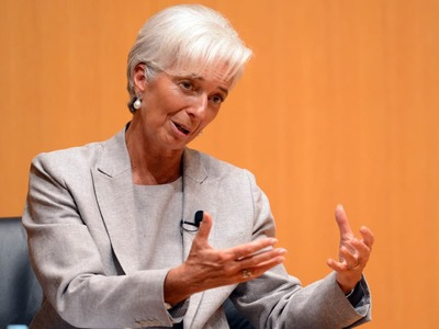 European government bond yields ignore Lagarde's verbal intervention; focus on Fed