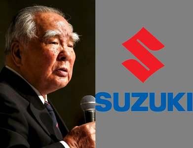 Suzuki Motor's 91-year-old chairman waves goodbye after decades-long career