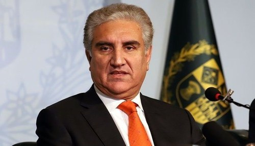 FM Qureshi welcomes Pak-India ceasefire agreement