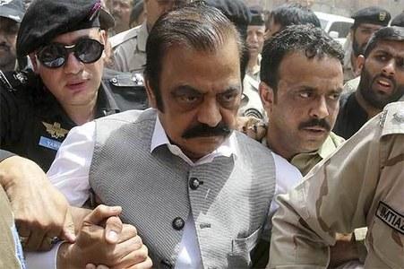 Court orders govt to de-freeze Sanaullah's salary account