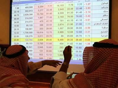 Global share rally, rising oil prices buoy Gulf bourses