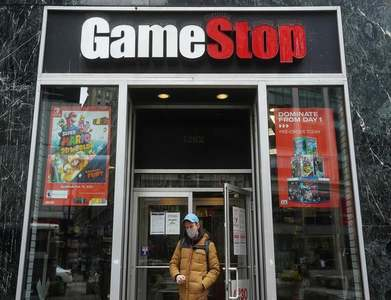 GameStop shares climb in early deals, on track for second best week
