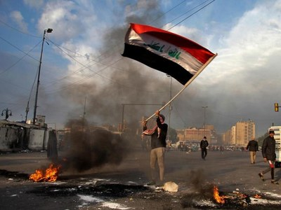 3 protesters killed in clashes with Iraq forces