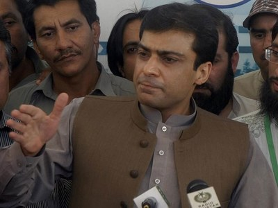 Hamza concerned over surge in country's debt