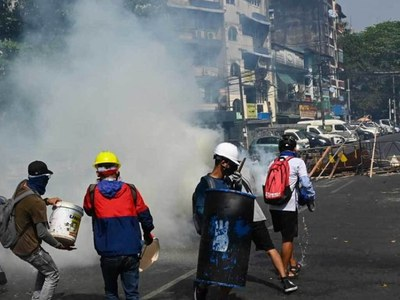 18 killed in Myanmar on bloodiest day of protests against coup