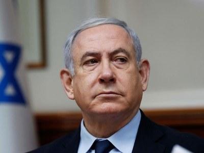 Netanyahu blames Iran for boat attack, says 'striking' back