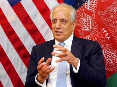 US envoy in Kabul as questions over troop withdrawal swirl