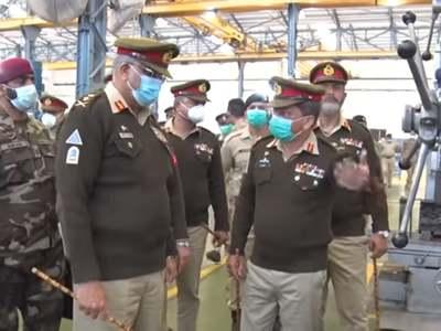 COAS Bajwa visits logistics installations & workshop in Rawalpindi
