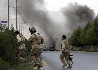 10 rockets hit Iraq base hosting US troops: security sources