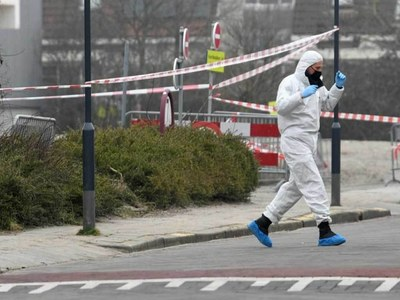 'Insane' blast damages Dutch coronavirus test centre