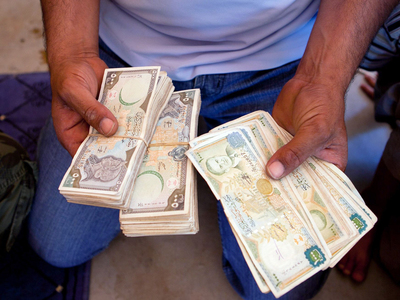 Syrian pound hits new low