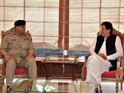 COAS, ISI Chief, PM Imran discuss national security