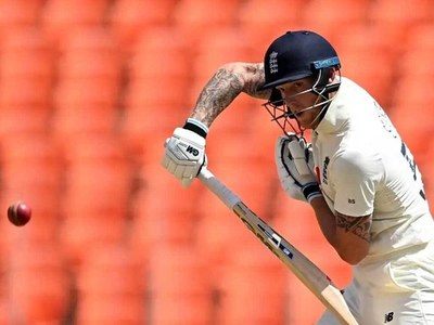 Stokes fifty props up England in final India Test