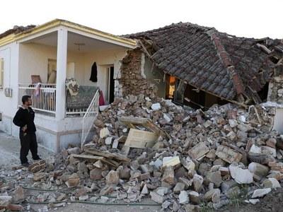 Greece assesses damage from 6.3 magnitude quake