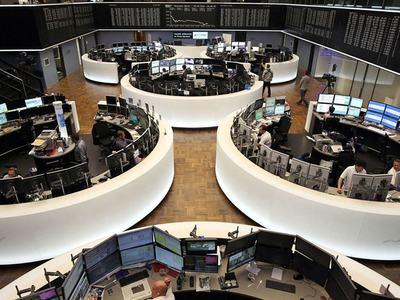 European shares fall