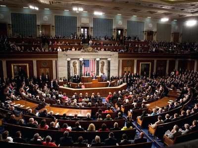 Reading aloud of 628-page Covid bill delays debate in US Senate