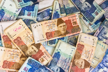 THE RUPEE: Small gains
