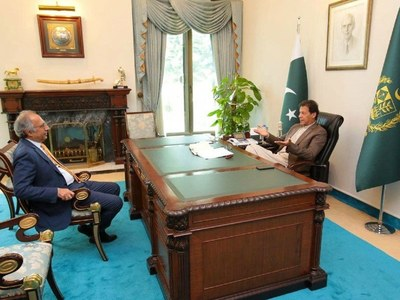 PM Imran directs Hafeez Shaikh to continue as Finance Minister