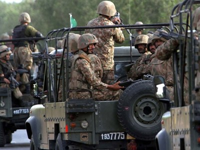 Eight terrorists including three commanders gunned down in North Waziristan: ISPR