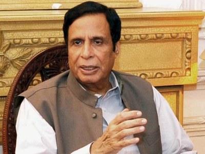 Shujaat, Parvez Elahi greet PM