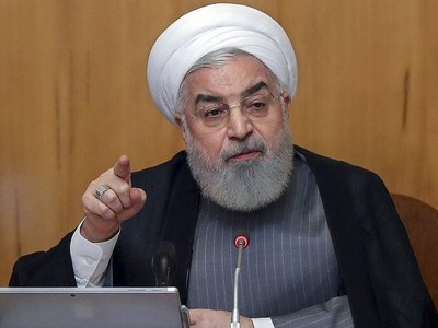 Iran's Rouhani urges Europe to avoid 'threats or pressure'