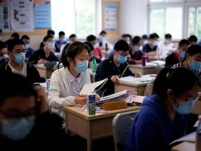 England's children go back to school after virus lockdown