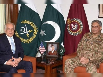 Khalilzad, COAS Bajwa discuss Afghan peace process
