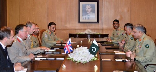 Gen Carter, COAS Bajwa discuss Afghan peace process and security issues