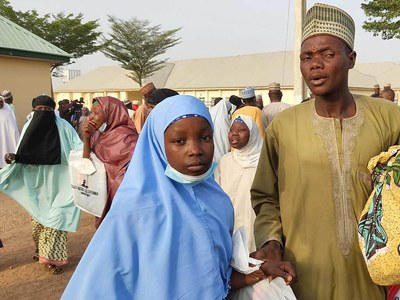 Nigeria eases curfew in town of kidnapped schoolgirls
