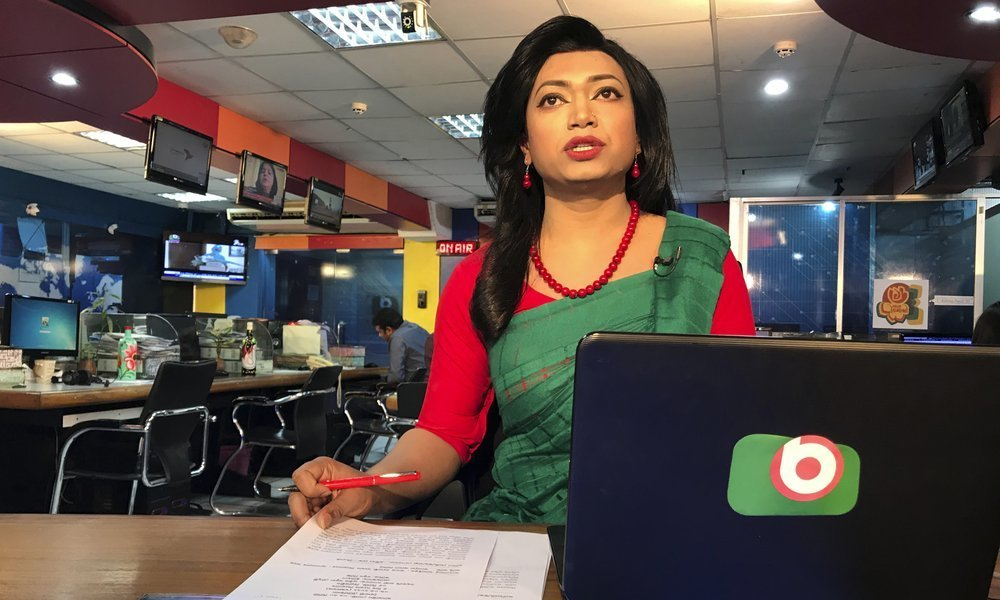 Bangladesh TV channel hires country's first transgender news anchor