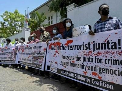 Sri Lanka invites foreign minister of Myanmar junta