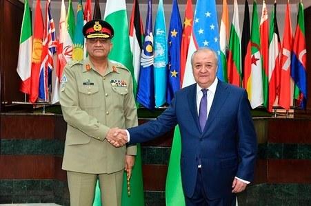 Uzbek FM, COAS Bajwa discuss Afghan peace process, regional situation