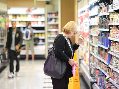 US consumer prices rise solidly; underlying inflation tame