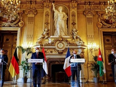 France, Germany, Egypt, Jordan hail unity govt in Libya