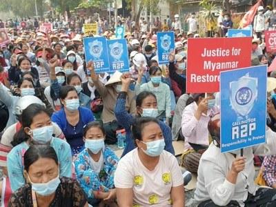 Nine killed in Myanmar as junta accuses Suu Kyi of taking illegal payments