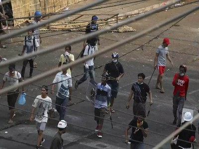 At least three dead as Myanmar protests continue after overnight violence
