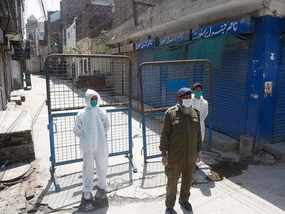 Spike in COVID cases: Smart lockdown imposed in 20 areas of Gujranwala