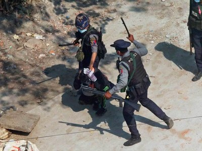 One dead in Myanmar anti-coup protest as ousted MPs urge unity against junta