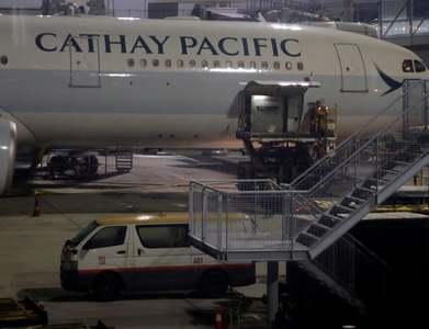 Cathay Pacific posts record loss
