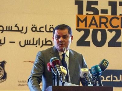 Libya's new interim PM takes office