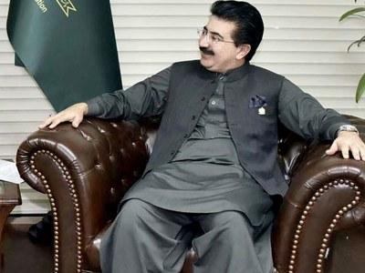 Sanjrani calls on president