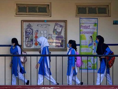 Schools closed in KP cities amid surge in COVID-19 cases