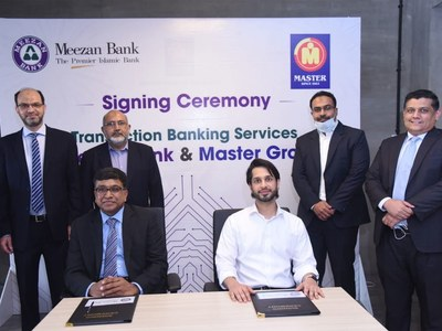 Meezan Bank signs agreement with Master Group